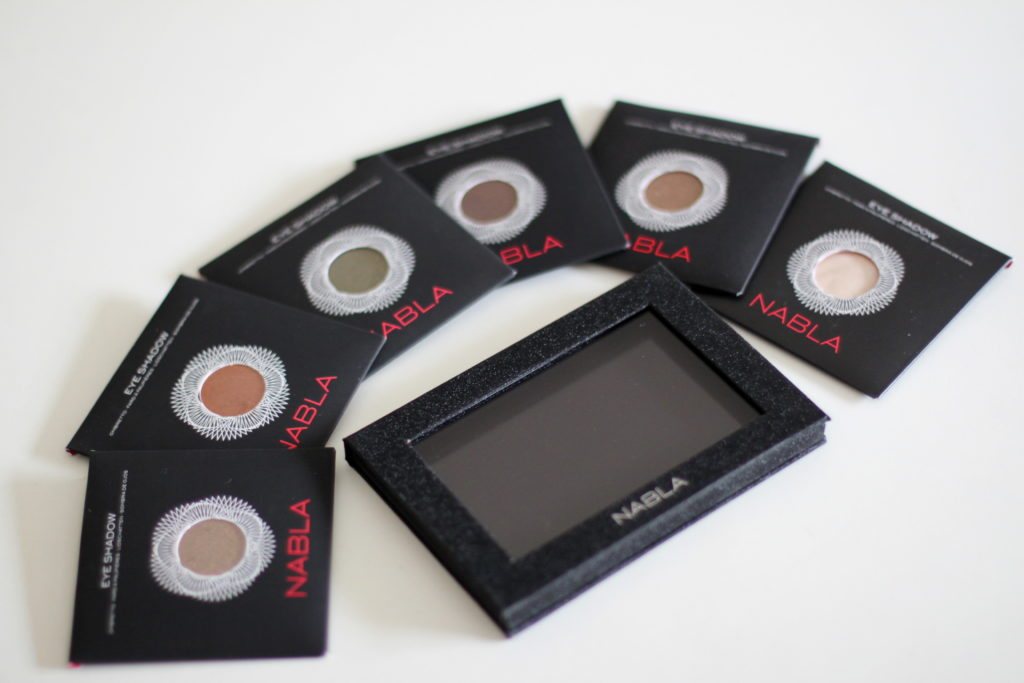 Hypiness - Nabla vegan eye shadows swatches