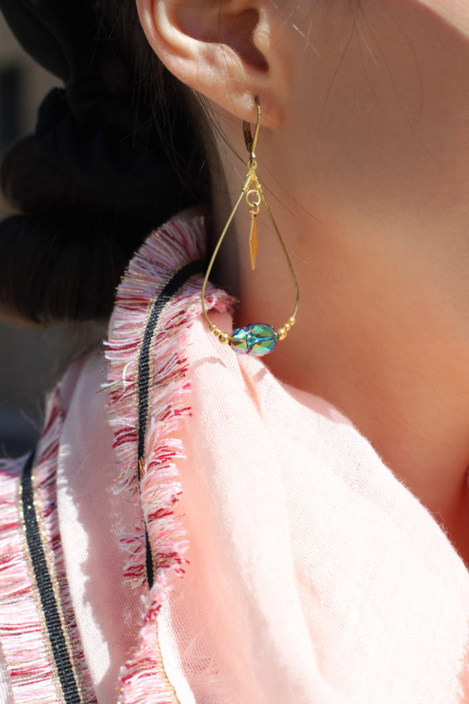 Look tropical - boucles d'oreilles Emma Pills - Hypiness