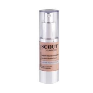 Fond de teint Organic Mineral Foundation Scout Cosmetics