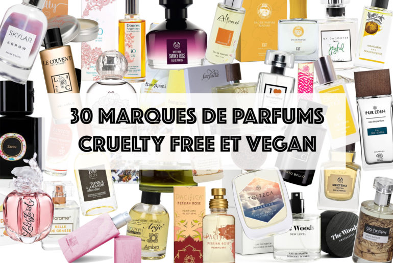 30 marques de parfums cruelty free et vegan !